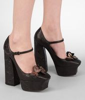 Calf Ayers Butterfly Mary Jane Pump