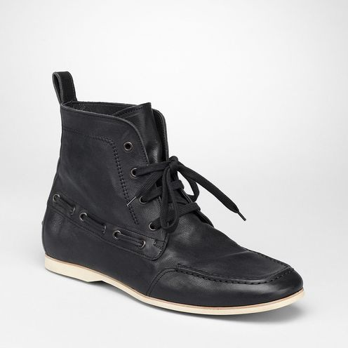 Boots and ankle bootsShoes100% LeatherBlack Bottega Veneta®