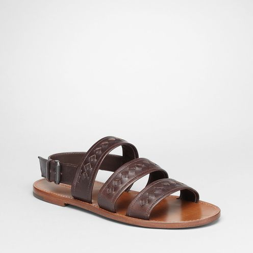 SandalsShoesCalf-skin leatherBrown Bottega Veneta