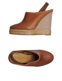 CHLO&#201; - Open-toe mules