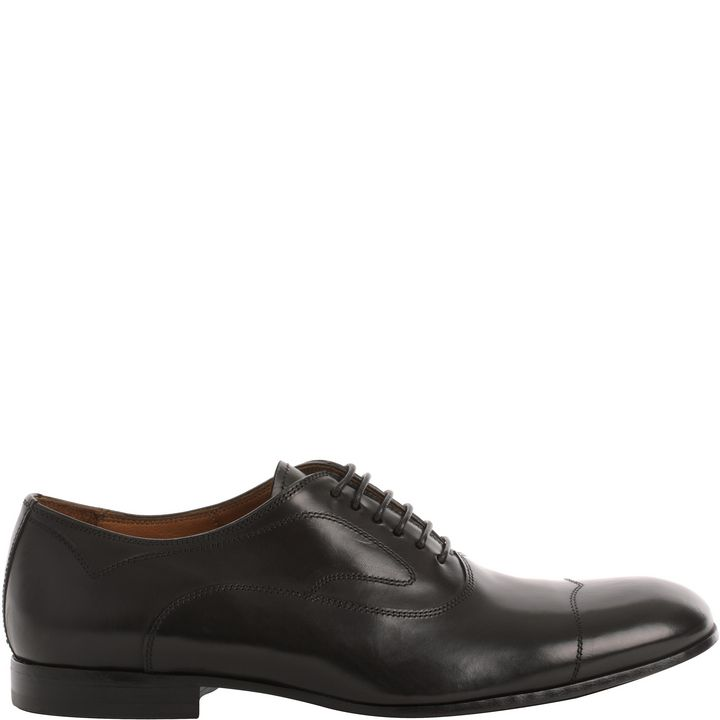 Alexander McQueen, Stitched Leather Oxfords