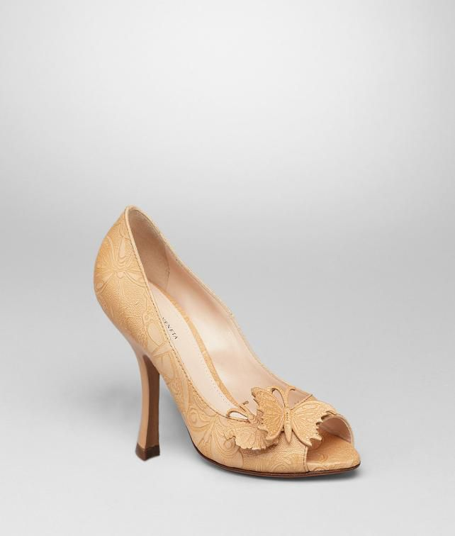 BOTTEGA VENETA Calf Butterfly Pump Sandals D fp