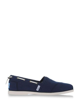 TOMS Loafers & Lace-ups Boat shoes on shoescribe.com