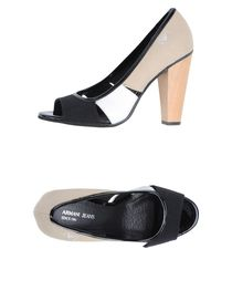ARMANI JEANS - Pumps with open toe