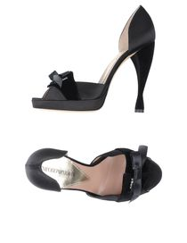 EMPORIO ARMANI - Pumps with open toe
