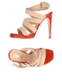 YVES SAINT LAURENT RIVE GAUCHE Platform sandals