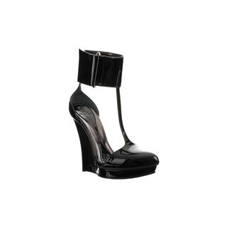 McQ, High-heels, T-Bar Ankle Cuff Wedge