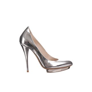 McQ, High-heels, Mercury Metallic Pump