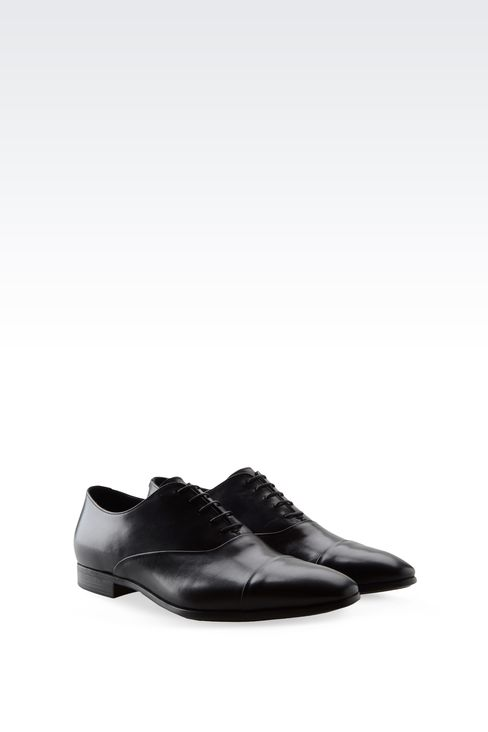 CALFSKIN BROGUE: Lace-up shoes Men by Armani - 2