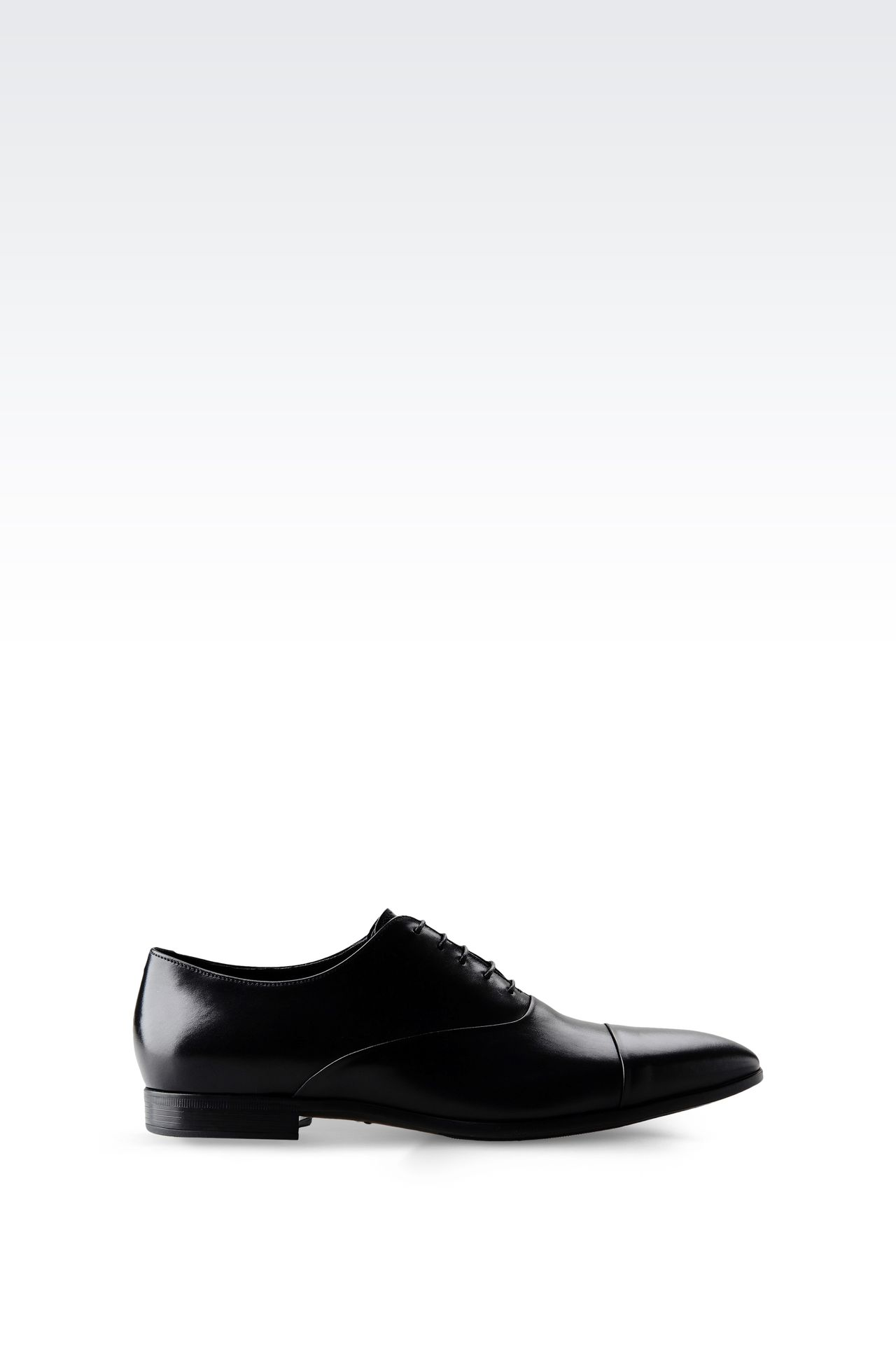 CALFSKIN BROGUE: Lace-up shoes Men by Armani - 0