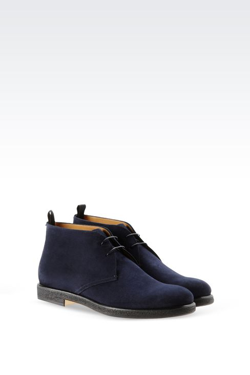 DESERT BOOT IN SUEDE: Desert boots Men by Armani - 2