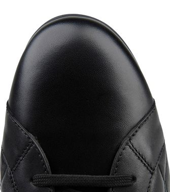 ERMENEGILDO ZEGNA: Sneakers Blue - Dark brown - 44547119PD