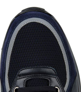 ZEGNA SPORT: Sneakers Blue - Dark green - 44547120EF