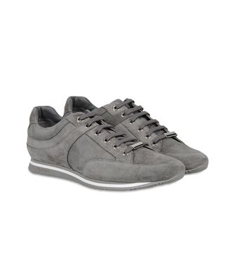 ZEGNA SPORT: Zapatillas Burdeos - Azul marino - 44547123DO