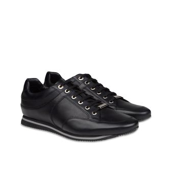 ZEGNA SPORT: Sneakers Pastel blue - Dark brown - Brown - 44547125NE