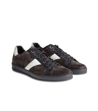 ZEGNA SPORT: Sneakers Blue - Dark brown - 44547126BT