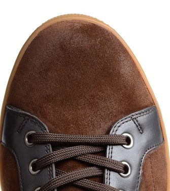 ZEGNA SPORT: Sneakers Blue - Dark brown - 44547126SC