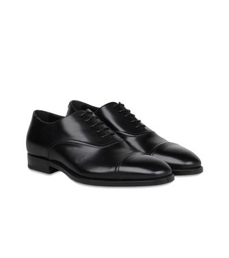 ERMENEGILDO ZEGNA: Laced shoes Black - 44547127WI