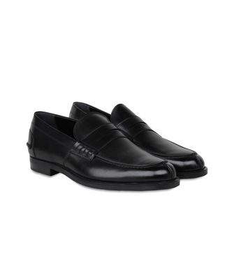 ERMENEGILDO ZEGNA: Loafers Black - Dark brown - 44547128KV