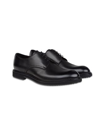 ZZEGNA: Laced shoes Black - 44547129FW