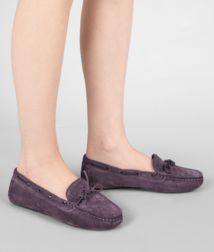 BOTTEGA VENETA - Shoes, Quetsche Intrecciato Suede Moccasin