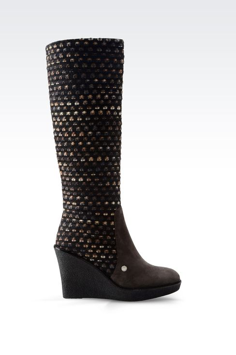 Shoes: High-heeled boots Women by Armani - 1