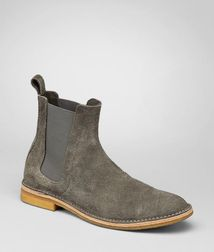 BOTTEGA VENETA - Boots and ankle boots, Shadow Buffalo Leather Ankle Boot