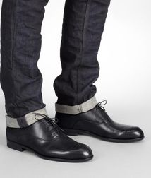 BOTTEGA VENETA - Formal shoes, Nero Brunissable Shoe