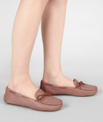 BOTTEGA VENETA - Shoes, Watteau Intrecciato Washed Cervo Moccasin