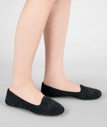 BOTTEGA VENETA - Shoes, Tourmaline Intrecciato Suede Slipper