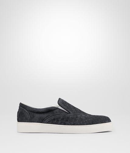 Ardoise Intrecciato Suede Sneaker