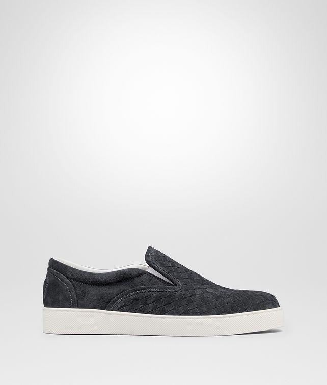 BOTTEGA VENETA DODGER SNEAKER IN ARDOISE INTRECCIATO SUEDE Sneaker or Sandal U fp