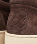 BOTTEGA VENETA Espresso Intrecciato Suede Sneaker Sneaker or Sandal U ap