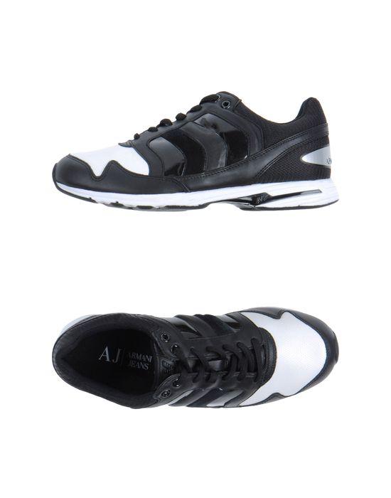 Мужская обувь - Кеды и кроссовки ARMANI JEANS - 'Кеды ARMANI JEANS' купить в интернет магазине YOOX.