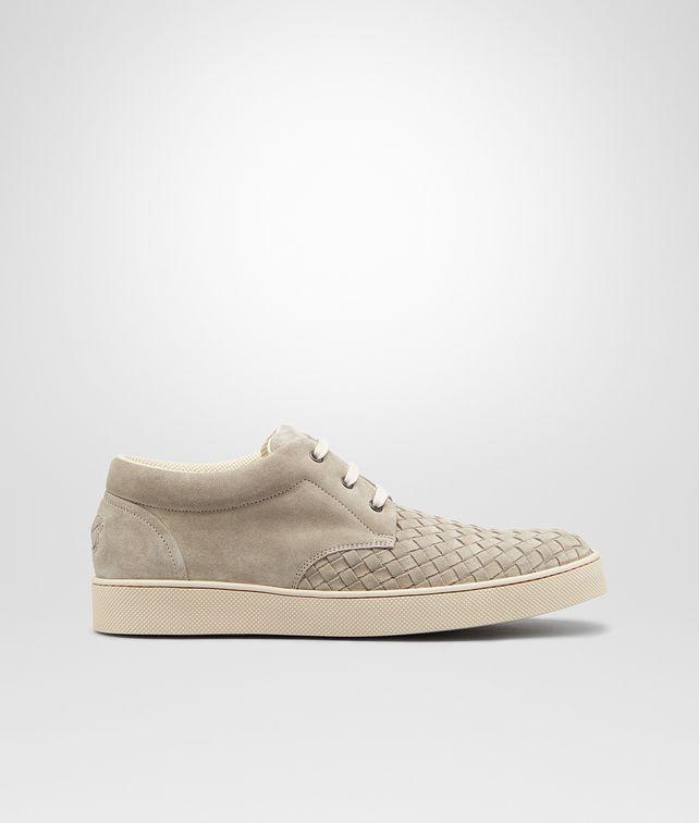 BOTTEGA VENETA Fumé Intrecciato Suede Sneaker Sneakers U fp