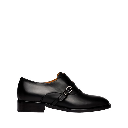 Balenciaga Papier Derby Buckle Shoes