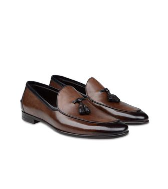 ERMENEGILDO ZEGNA: Mocasines Marrón - 44552584TV