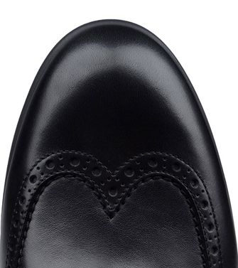ERMENEGILDO ZEGNA: Laced shoes Dark green - Black - 44552585LU