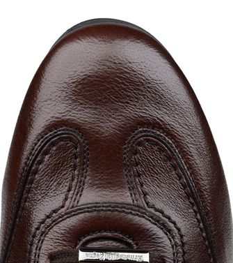ERMENEGILDO ZEGNA: Laced shoes Blue - Steel grey - 44552586VW