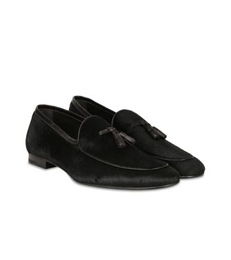 ERMENEGILDO ZEGNA: Loafers Blue - Dark brown - 44552588QG