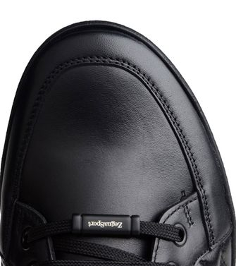 ZEGNA SPORT: Sneakers Dark green - Black - 44552655AC