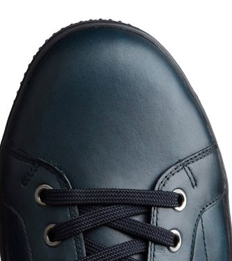 ZEGNA SPORT: Sneakers Bleu-gris - Moka - Marron - 44552656PH