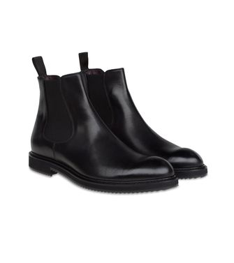 ZZEGNA: Ankle boots Black - Dark brown - 44552659GM