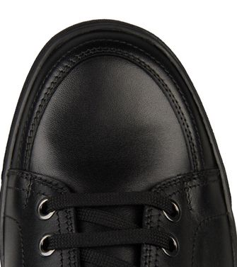 ZZEGNA: Zapatillas Burdeos - Negro - 44552974CL