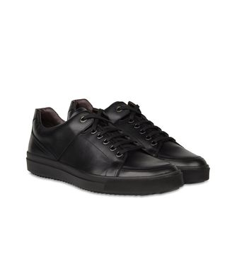 ZZEGNA: Sneakers Bordeaux - Nero - 44552974CL