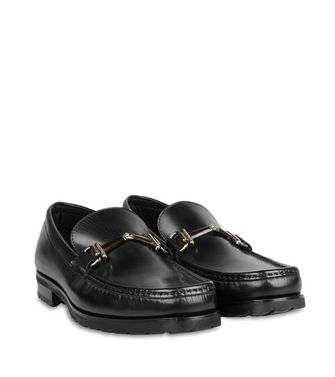 ERMENEGILDO ZEGNA: Loafers Steel grey - 44552989LF
