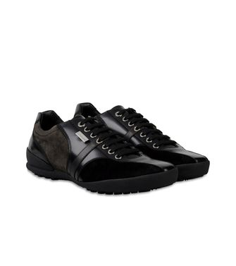 ZEGNA SPORT: Sneakers Black - Dark brown - 44553004JP