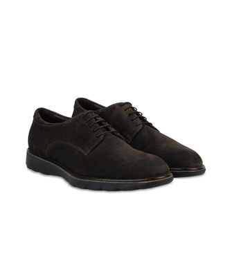 ZZEGNA: Laced shoes Black - Dark brown - 44553013CU