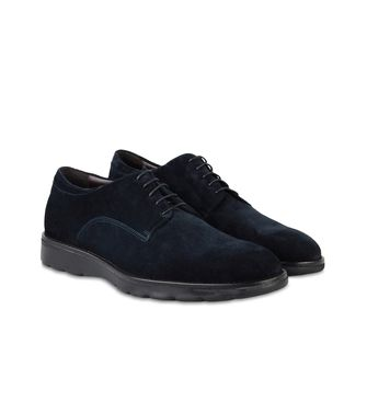 ZZEGNA: Laced shoes Blue - 44553013WE