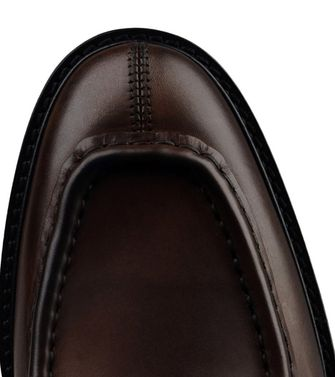 ERMENEGILDO ZEGNA: Laced shoes Blue - Dark green - 44553015GW